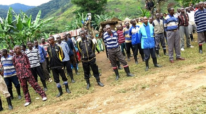 Some of the FDLR combatants