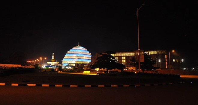 The Magnificent Kigali conventional center ready ahead of the African Union Summit