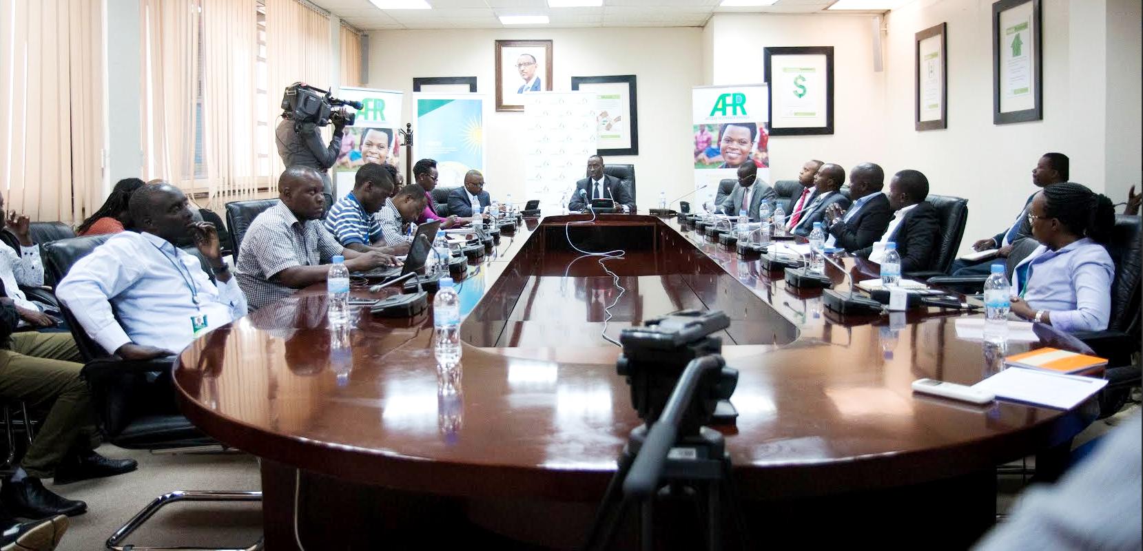 Alex Kanyankore, Managing Director BRD briefing Media
