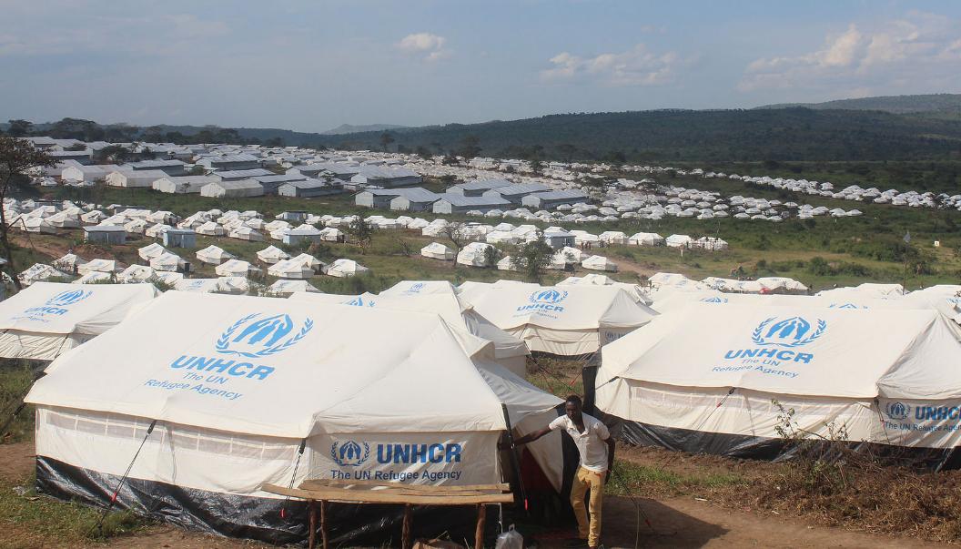 Mahama refugee camp in Rwanda hosts Burundian refugees