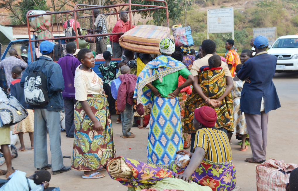 Rwanda refugees evicted from Tanzania on arrival at Rusumo Border post