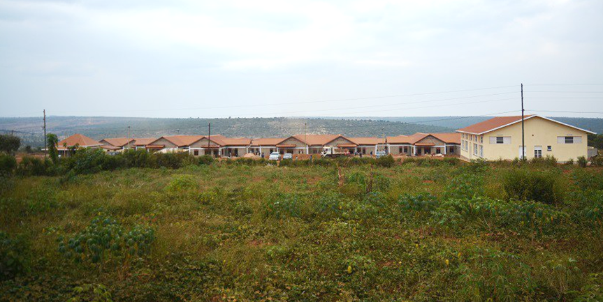 The new modern village built on mainland for former islanders