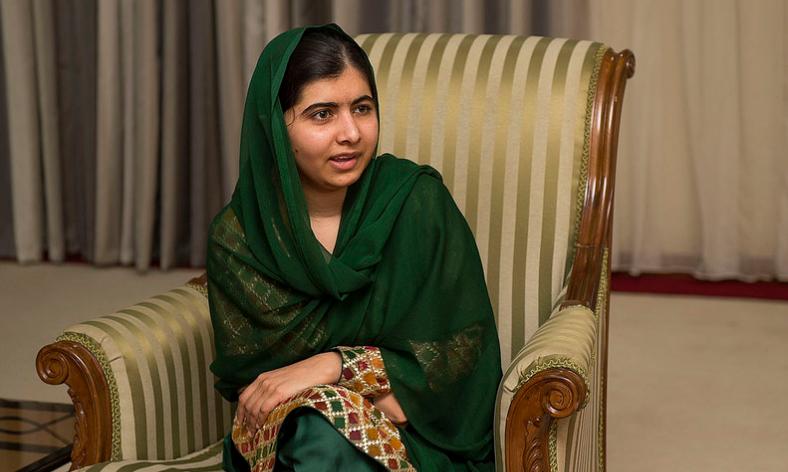 Nobel laureate Yousafzai Malala in Kigali