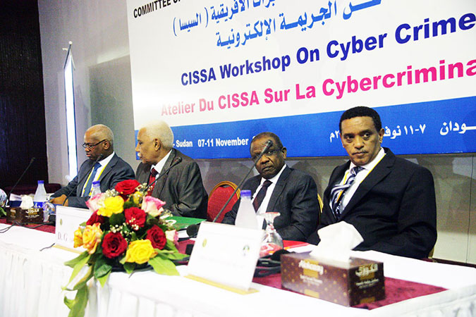 Members of CISSA during a conference last year