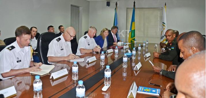 US delegation in consultation with Rwanda