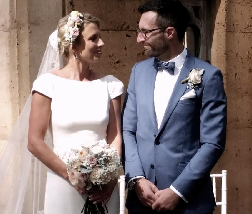 Gemma and Damian got married last week in Australia