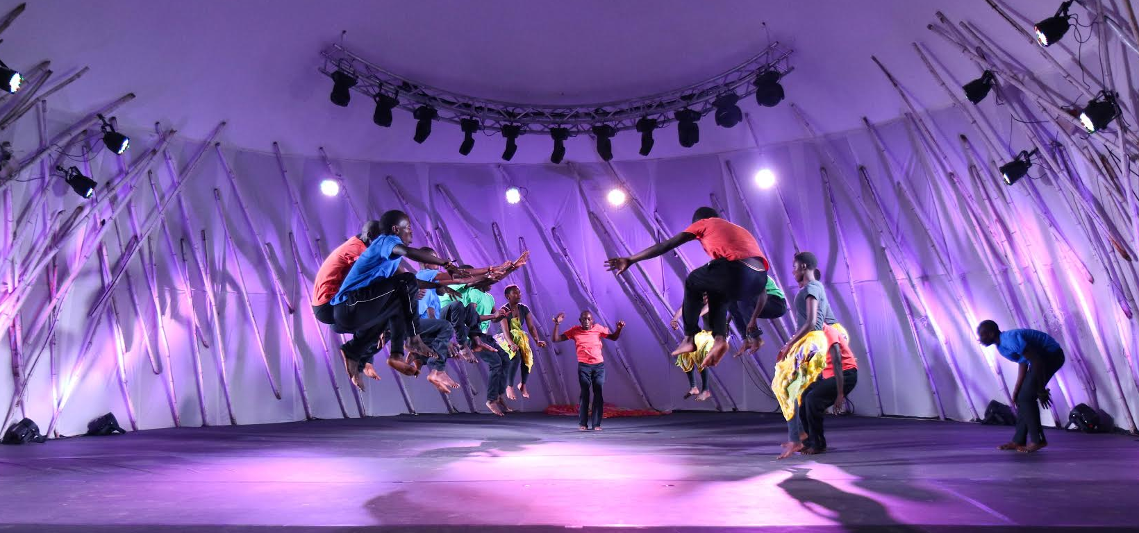 Several intersting performances will continue during the four-day Ubumuntu Arts Festival