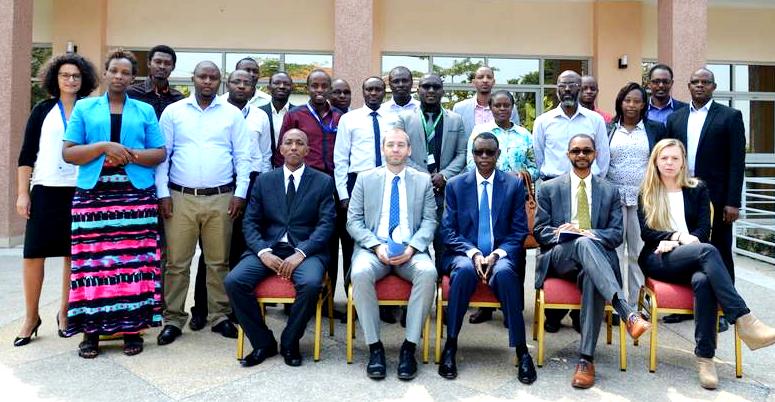 Delegates at a CBRN workshop in Kigali, Rwanda