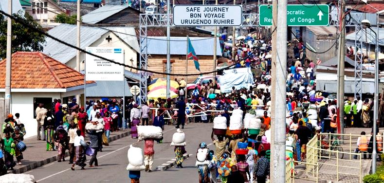 Rwanda-DRC border always busy