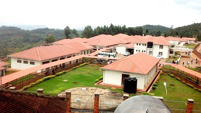 Bushenge hospital where Kwizera Jean is admitted with severe injuries