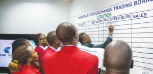 Rwanda's Stock Market falls by 69.6%