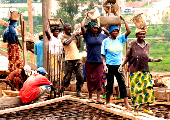 Rwanda is experiencing a growing construction sub-sector