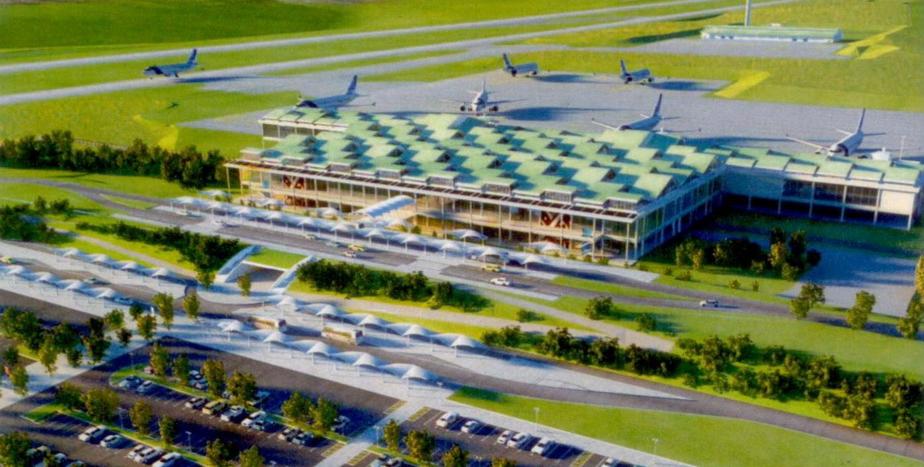 Artistic Impression of Bugesera International Airport (BIA)