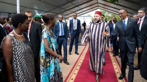 King Mohammed VI on a 3-day state visit in Rwanda