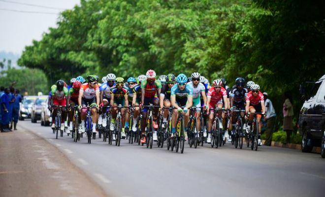 Stage II of Tour du Rwanda endured long flat stretches and climbs along Kigali-Ngoma highway