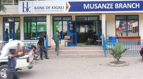 Bank of Kigali is listed on Rwanda Stock Exchange