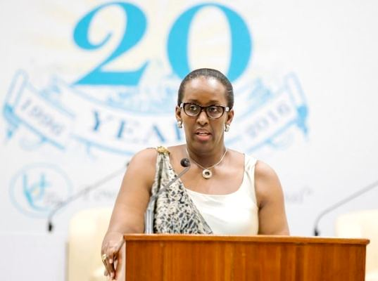 The First Lady Mrs Jeannette Kagame opened the 9th Annual Forum of the Unity Club