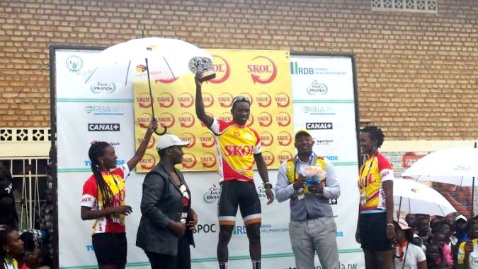 Rwanda's Areruya Joseph won Stage 4 of Tour du Rwanda while Valence Ndayisenga retained Yellow Jersey