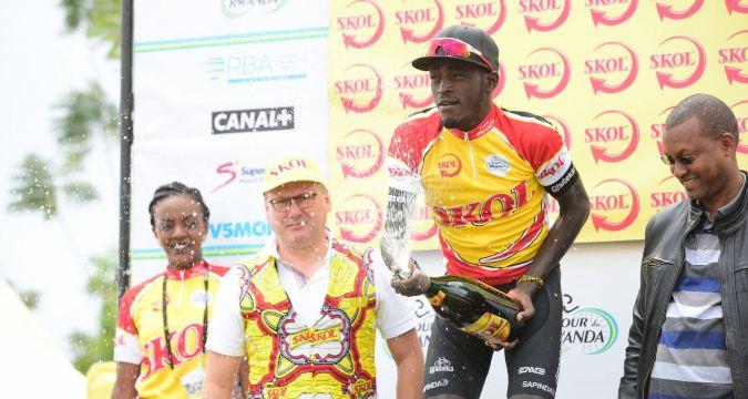 Valens Ndayisenga wins Stage VI (Musanze - Kigali)
