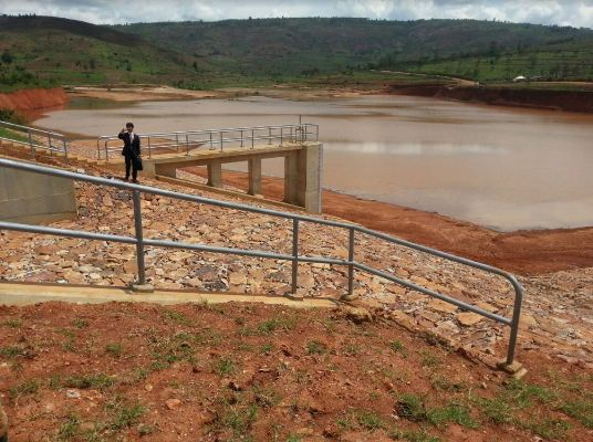 Ngoma district is largely hilly. The massive water reservoir will promote uphill irrigation