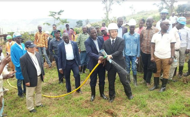 The irrigation project will cover 300 hectares