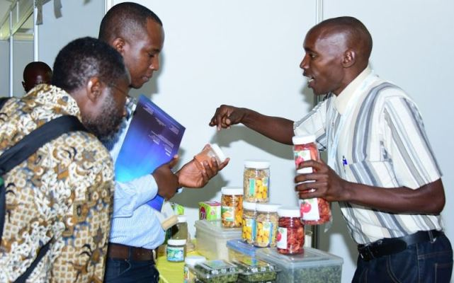 Over 200 local farmers exhibit products to entice potential financiers and clients