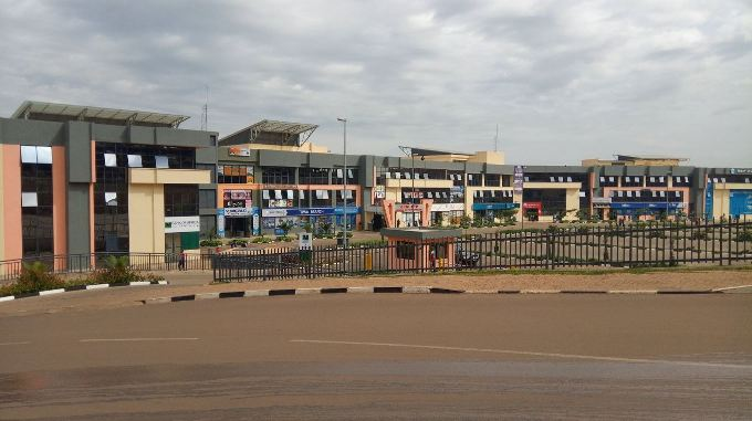 CHIC shopping mall cost Rwf 20 billion and has 55,000 square meters of space