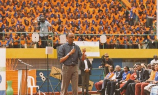 Aim for the'High Table' -Kagame Challenges Youth
