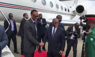 President Kagame in Tanzania for a Working Visit