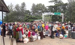 Police Apprehends Protesting Burundian Refugees