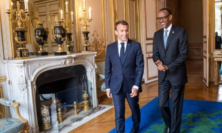 COVID-19: President Kagame Wishes President Macron Prompt Recovery