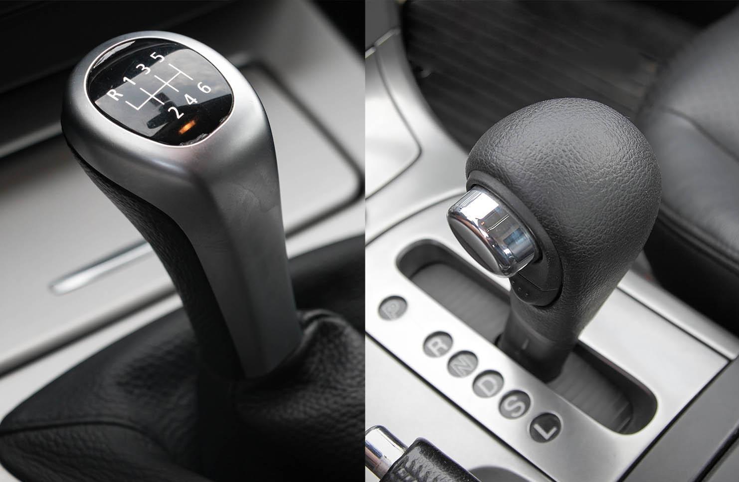 bmw manual vs automatic reliability