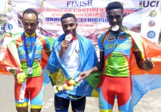 African Continental Road Champs: Uhiriwe Wins Junior Men's Road Race