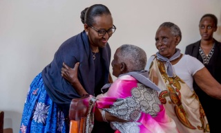 We Are Proud to be Your Children: First Lady Tells Elderly Genocide Widows