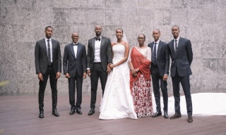 Euphoria: Rwanda's First Daughter Releases Wedding Photos