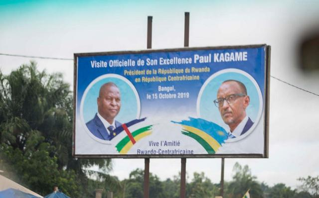 Kagame in Central Africa Republic for Official Visit - KT