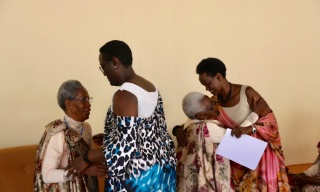 A Day that Changed Lives of Elderly Genocide Survivors In Western Province