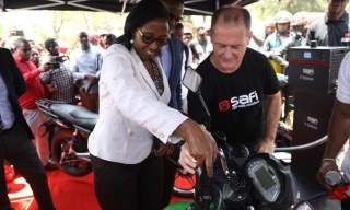 New Electric Motorcycle Hits Rwandan Roads Next Month