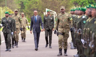 Kagame Pays Tribute to Armed Forces for Safeguarding Rwanda in 2019