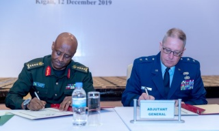 US' Nebraska National Guard Signs Cooperation Agreement with Rwanda Defence Force