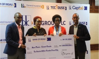 Bank of Kigali Honours Connect Rwanda Pledge with Rwf 200M
