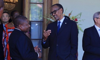 Photos: Kagame, Fellow Leaders Attend Swearing-in of Mozambique President Nyusi