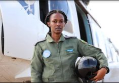 Some People Are Sceptical Being Flown By A Female Pilot – RDF's Lt Mwiza