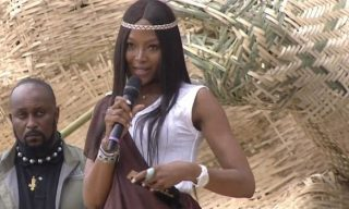Supermodel Naomi Campbell Falls for Fake News on President Kagame