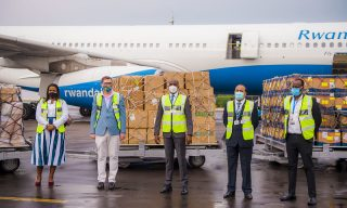 The Ruler of Dubai Donates 300,000 Covid-19 Equipment to Rwanda