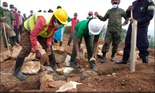 Rwanda Lays A Foundation Stone of 22,000 New Classrooms