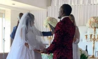 Singer Alpha Walks Down the Aisle