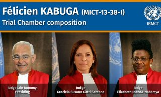 UN Court Selects Judges for Félicien Kabuga Case