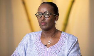 First Lady Jeannette Kagame Calls on Men to End Child Abuse