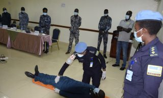 UNMISS: Rwandan Police Peacekeepers Train Local Security Personnel on First Aid